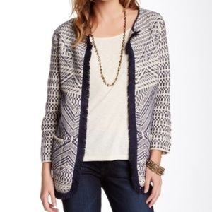 Lucky Brand Cardigan with Fringe Detail
